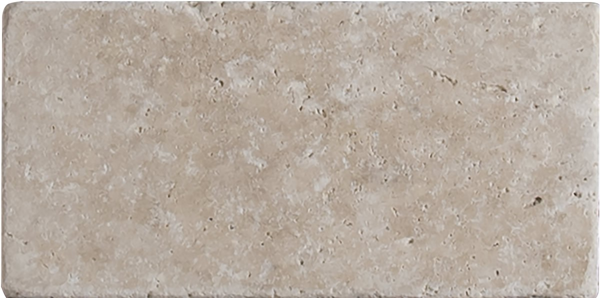 Bologna Chiaro 3 In X 6 In Tumbled Travertine Floor And Wall Tile