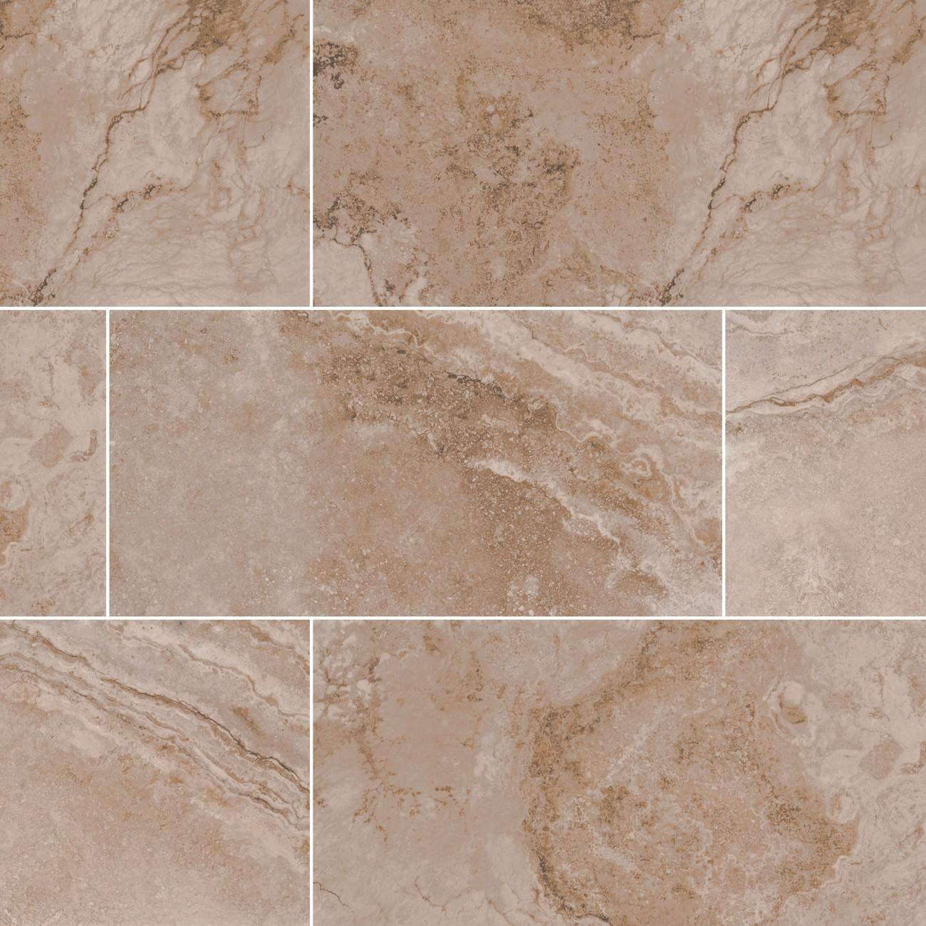 Home Floor Wall Tile Ceramic Napa Noce 12x24